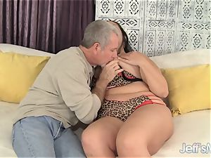 super-sexy mummy Aire Fresco get penetrated supreme