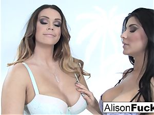 Alison and Romi nail for the very first time