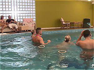 horny pool soiree part 1
