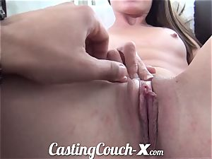 audition Couch-X Georgia peach excited to do porno for $