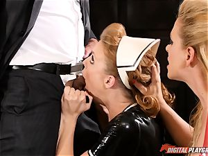 cooch hitting the insatiable romp sub maid Britney Amber