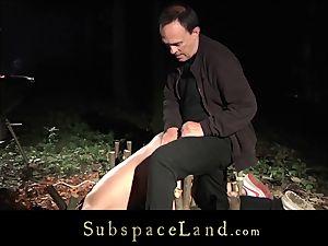 restrain bondage ache And bearing For nubile slave In bondage & discipline porno