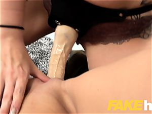 woman Agent Alessa savage super-hot cable on fuck