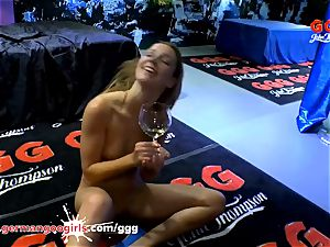 Alexis Crystal is glad for large meatpipes and jism - GGG