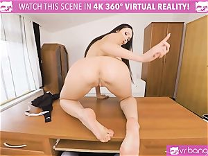VR porn - Thanksgiving Dinner becomes a horny three way
