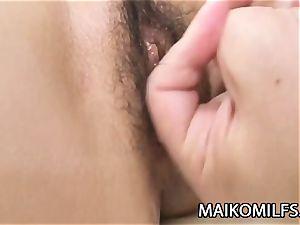 Yuko Hoshino - skinny JAV wife drilled And Facialized