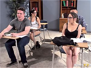 huge-boobed educator Ava Addams is drilled by her student