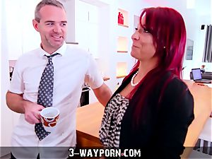 Step-Mom teaches intercourse to unexperienced Son-in-Law