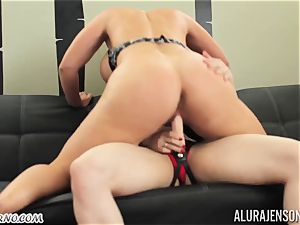 My mommy bought a fresh strap-on and attempt it on me