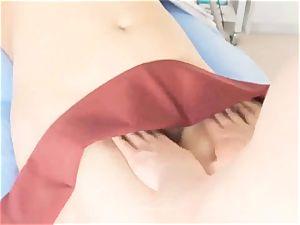 girlfriend luvs A lovely pelvic massage to orgasm